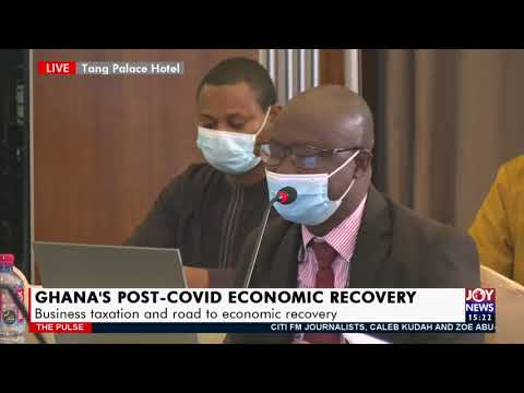 Live: Business Taxation and Road to Economic Recovery- The Pulse on Joy News | 12 May 2021