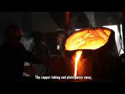 Innovative, energy-saving copper restoration