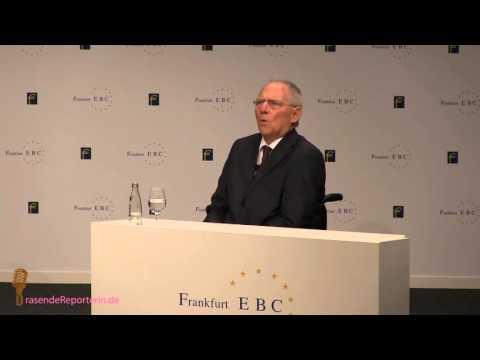 Vollversion Wolfgang Schäuble European Banking Congress 2015