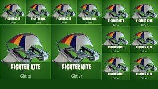 Fortnite Fighter Kite Glider Skin