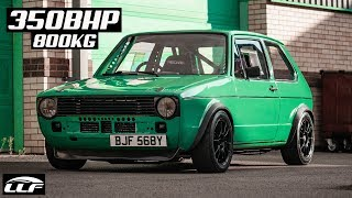 THE 350BHP MK1 GOLF TURBO *ENGINE SWAP*