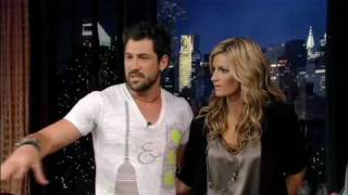 Erin Andrews and Maks Chmerkovskiy on Regis and Kelly