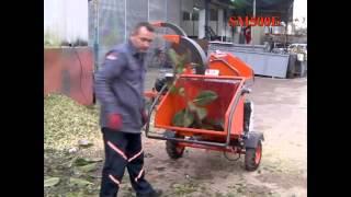 dal parçalama ve yongalama makinası