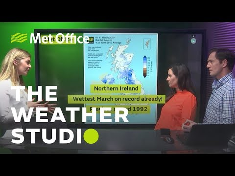 Weather for the week ahead & Record breaking rain - The Weather Studio