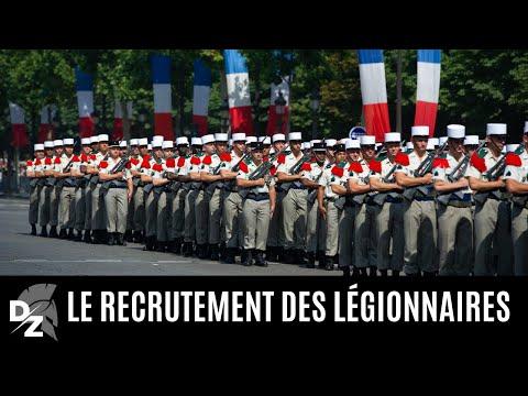 Le recrutement des légionnaires