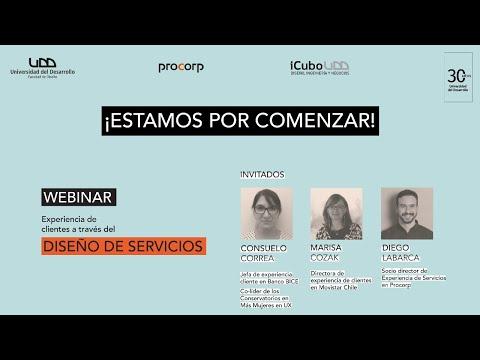 """Charla """"Experiencia del cliente a través del diseño de servicios"""""""