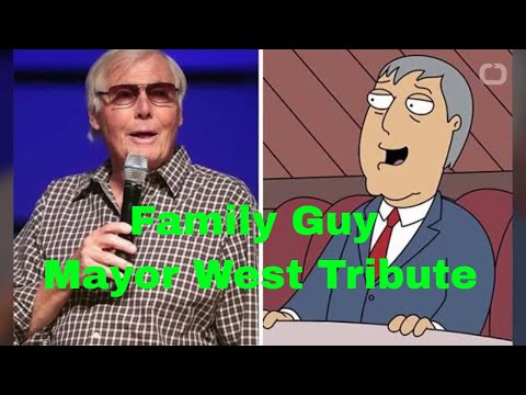 Family Guy Mayor West Tribute