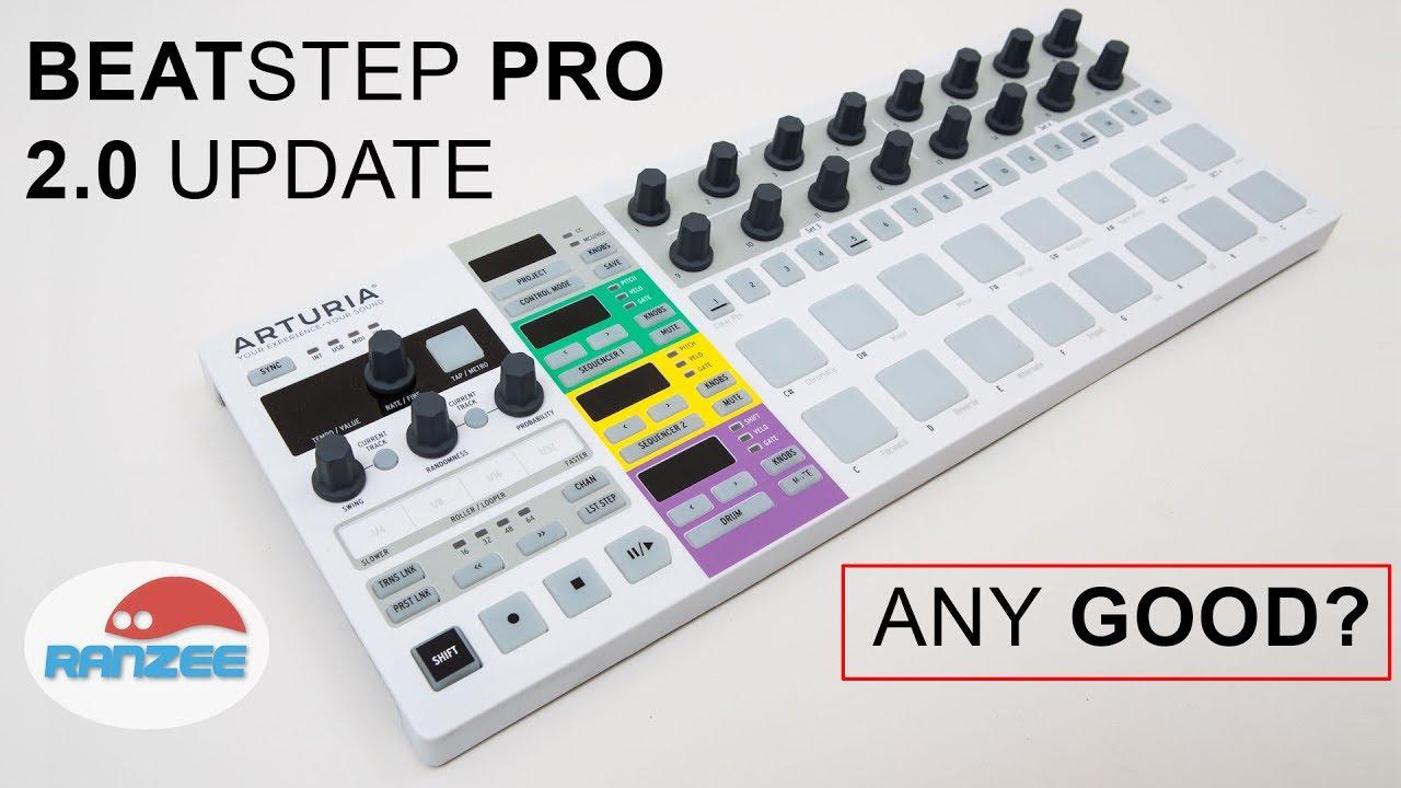 how to firmware update arturia beatstep pro