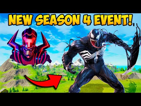 *NEW* GALACTUS EVENT + VENOM SKIN!! - Fortnite Funny Fails and WTF Moments! #1097