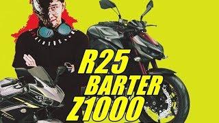 barter sama Z1000 dia yang nambah, SULTAN!