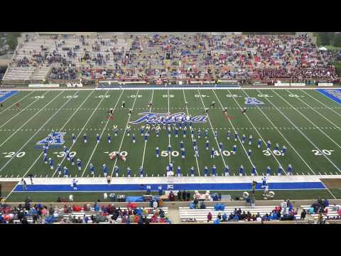 Sound of the Golden Hurricane - 9-6-14 Halftime