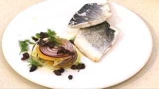 Seabass With Fennel And Orange Salad - Market Kitchen