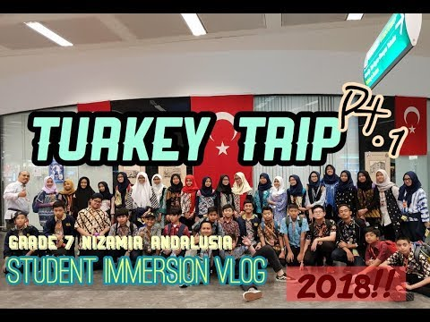 Nizamia andalusia middle school immersion to turkey!!-Nadine Natsir