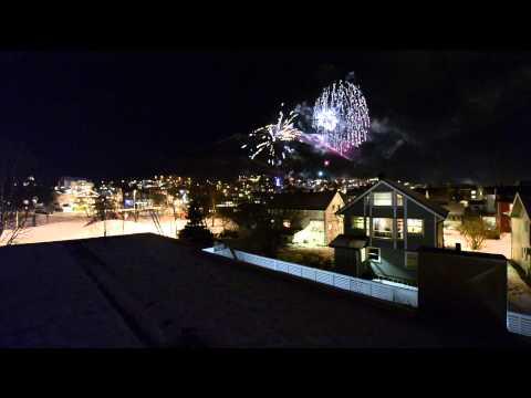 New years eve Tromsoe Norway
