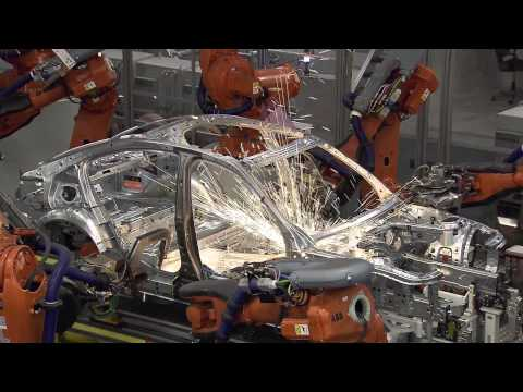 BMW F30 3 Series Production Process - Body Shop [2/5]