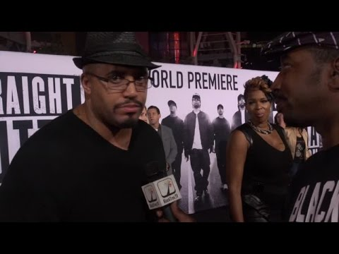 Suge Knight played by R. Marcos Taylor Straight Outta Compton Premiere