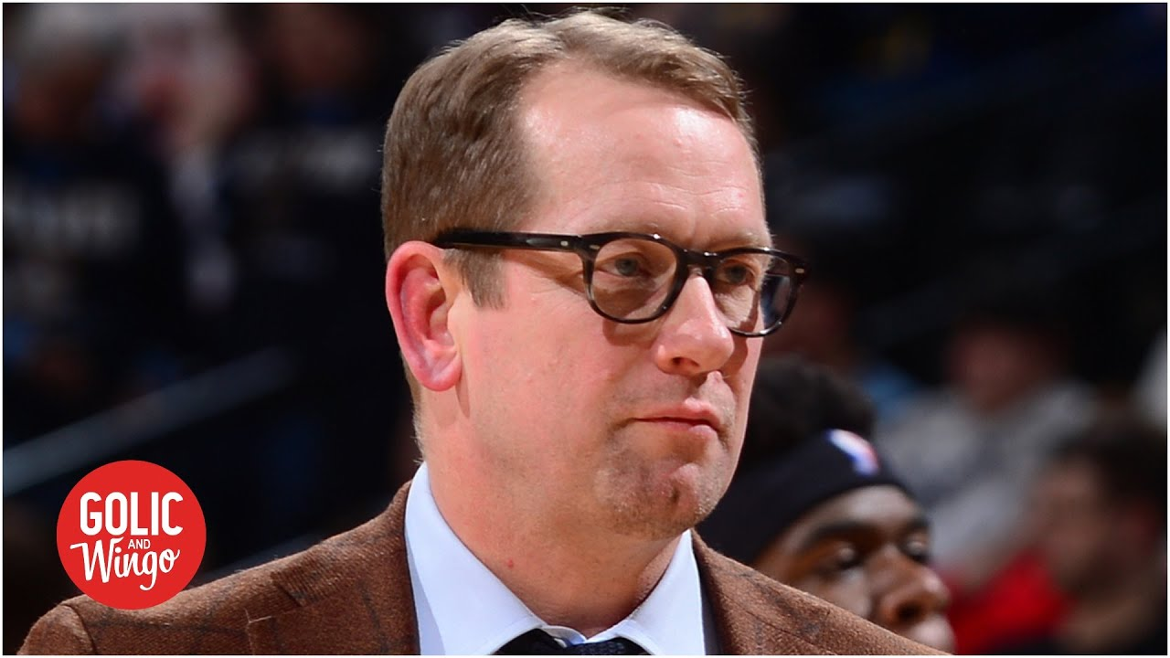 Nick Nurse describes the biggest adjustments to living in the NBA bubble | Golic and Wingo