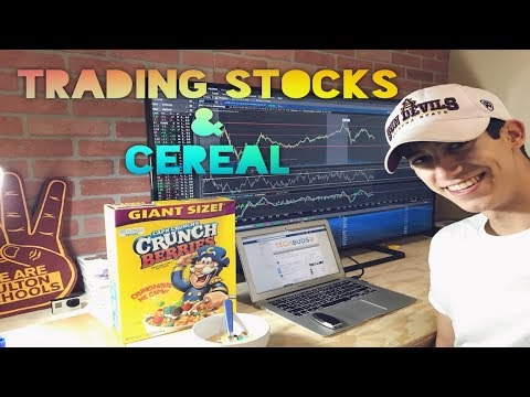 Trading Stocks & Cereal  | Penny Stock Investor