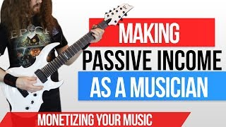 Making money as a musician involves passive income. these are ways to make online from music, without having go out and tour. cd sales, shirts o...