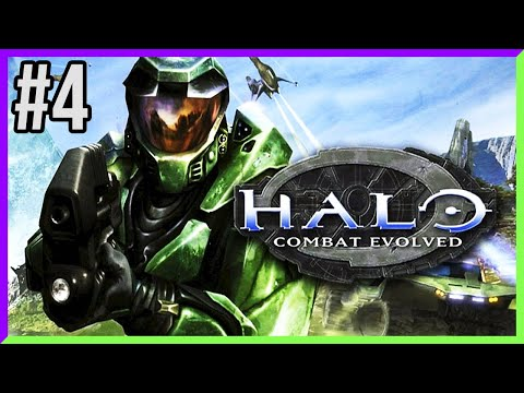 THE SILENT CARTOGRAPHER! - Halo Combat Evolved [Blind Playthrough] Part 4 - Venom Lion