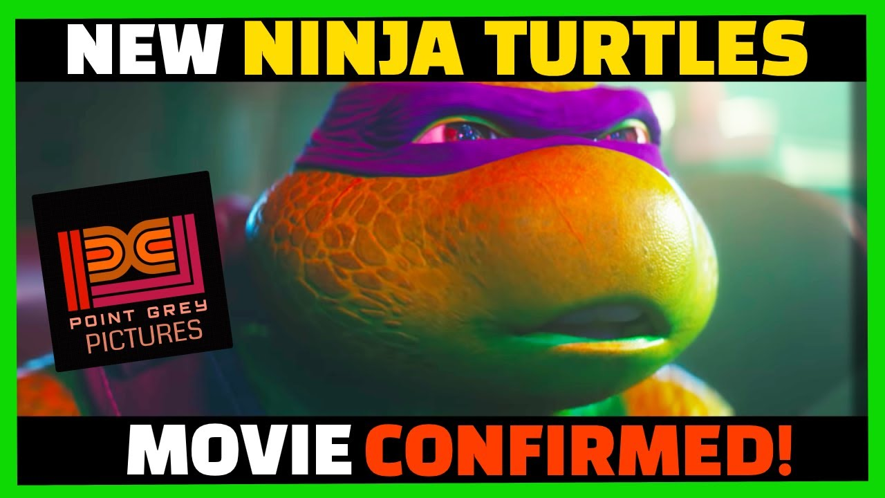 Teenage Mutant Ninja Turtles' Getting CG Movie Reboot From Nickelodeon & Seth Rogen's Point Grey Pic