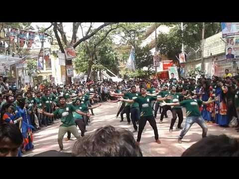 Jagannath University: Rag Day Flash Mob by 8th Batch, Department of  Accounting &information systems