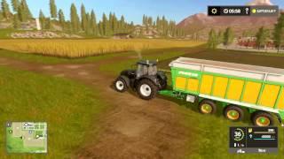 Bajki dla dzieci o traktorku. Kombajn farma zwierzęta