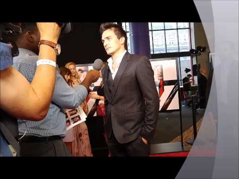 Rupert Friend premieres Hitman: Agent 47 in NY