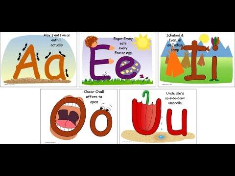 гласные звуки картинки для детей