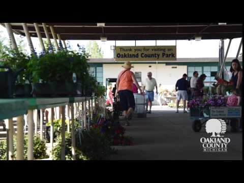 Oakland County Farmers Market Time Lapse