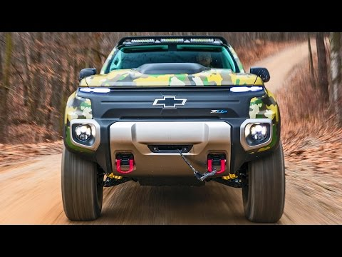 Chevrolet Colorado ZH2 – Production, Offroad Test, Design [YOUCAR]