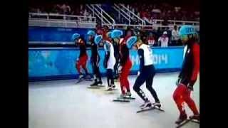видео: шёрт трек , мужчины, 1500м  Виктор Ан, олимпиада Сочи 2014
