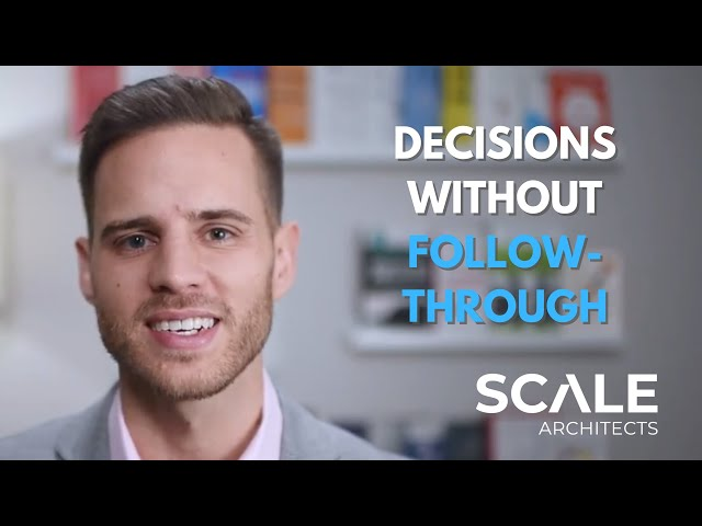 Decisions without follow-through