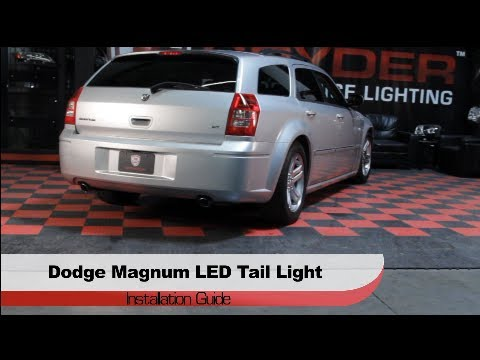 spyder auto installation 2005 08 dodge magnum led tail lights youtubeDodge Magnum Tail Light Wiring Diagram #17