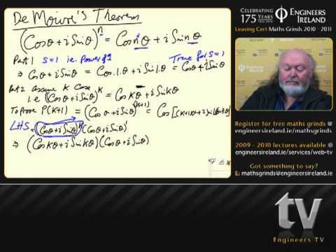 Complex Numbers II - Leaving Certificate MathsTutorial