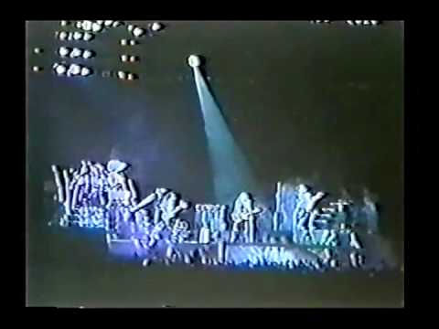 KISS Live In Sao Paulo 6/25/1983 Creatures Of The Night Tour