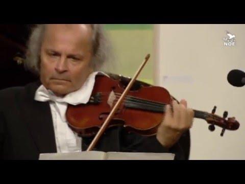 W.A. Mozart Sonáta in G major  K V 301 for violin and piano