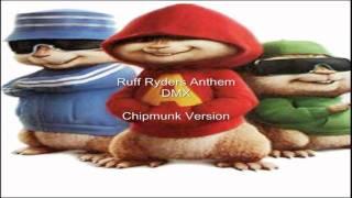 dmx ruff ryders anthem chipmunk version