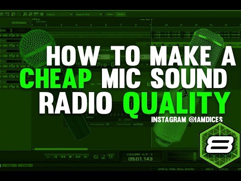 How to Make a Cheap Mic Sound Professional in Mixcraft | @Iamdices