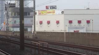 「お座敷!」485系 華 下総中山駅、横を通過!【鉄道】