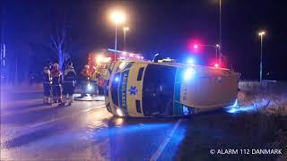 09.10.2019 - Ambulance i trafik ulykke