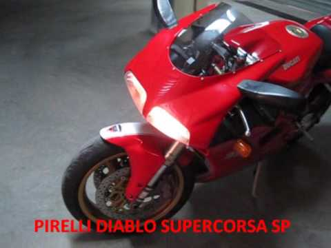 ducati 996 termignoni racing carbon 45 mm sound - youtube