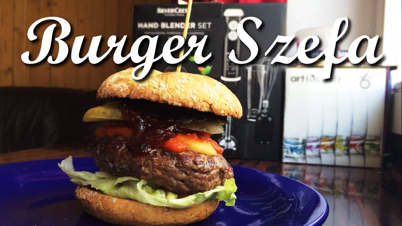 Burger Szefa Z Sosem Bbq I Habanero