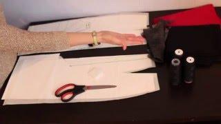 Как сшить юбку карандаш. Черная юбка карандаш своими руками для начинающих.
