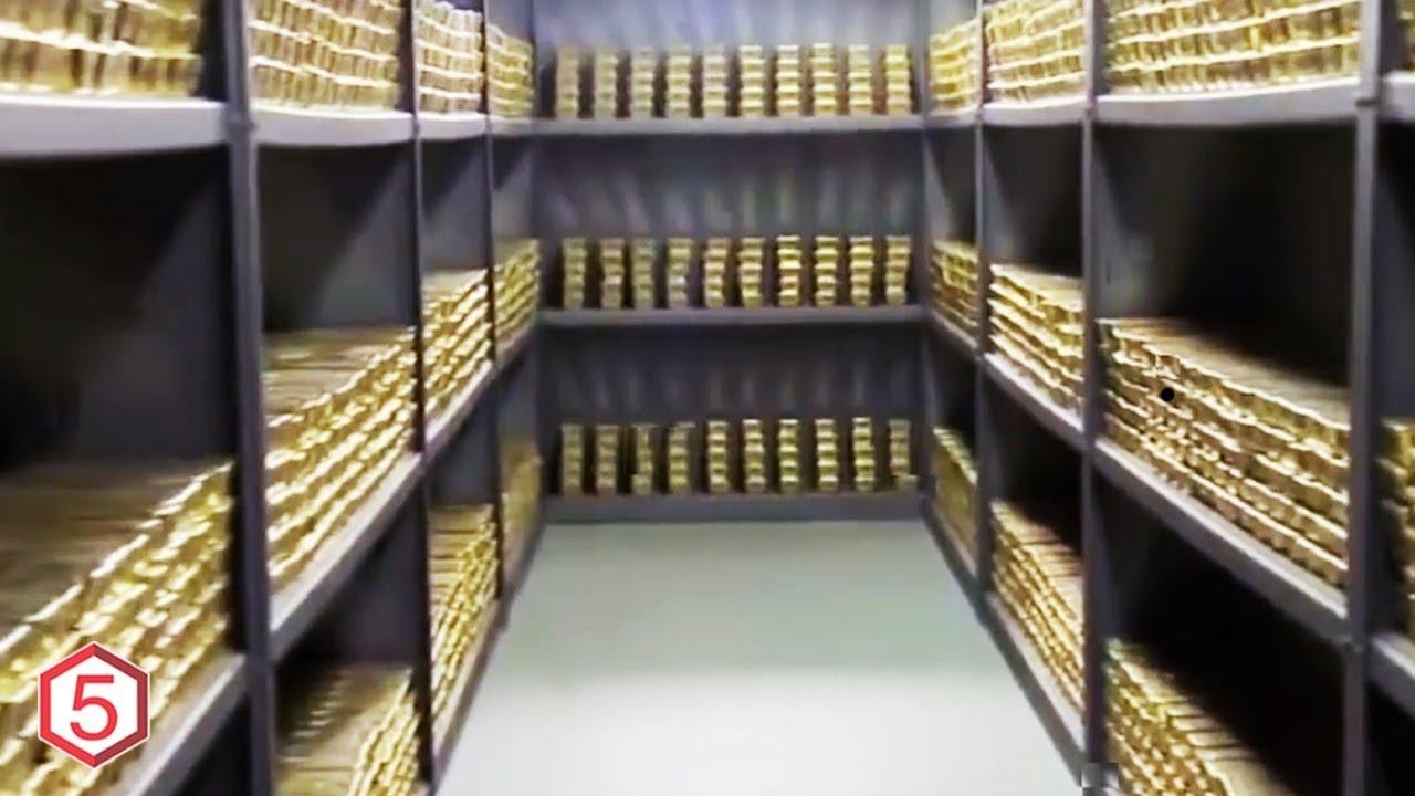 Mengejutkan 5 Negara Pemilik Cadangan Emas Paling Gila Di Dunia
