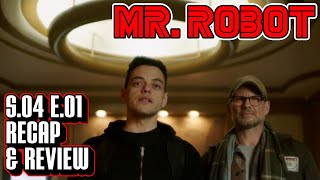 Mr. Robot Season 4 Episode 1 Recap & Review | 401 Unauthorized