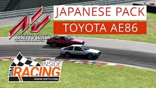 Assetto Corsa Japanese Pack Test Drive: Toyota AE86 Trueno At Magione