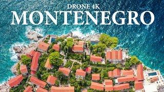 Montenegro Drone Aerial 4К / Черногория с высоты в 4К