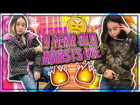 9 YEAR OLD GIRL ROASTED ME!! (Sister Bully)