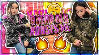 9 YEAR OLD GIRL ROASTED ME!! (Lil Tay)